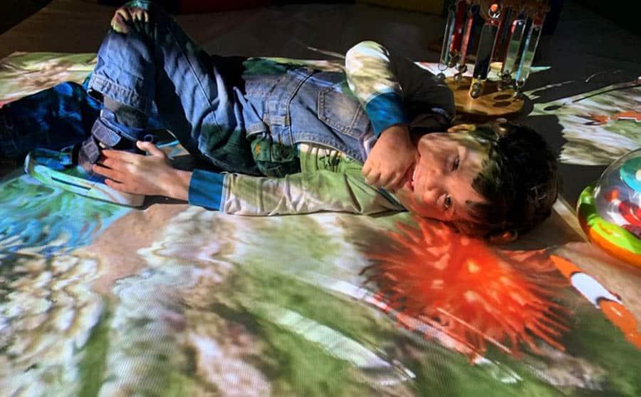 Mobile Magic Carpet assistive technology image