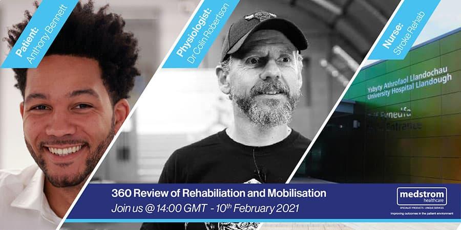 Medstrom Healthcare rehabilitation webinar image