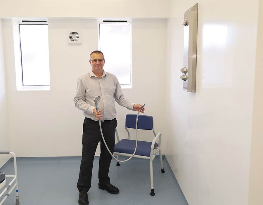 Gainsborough Specialist Bathrooms completes highly specialist G360 wet rooms at NHS Welland Centre image