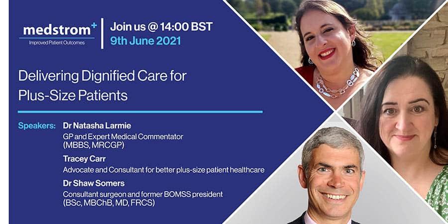Medstrom plus-size patients webinar image