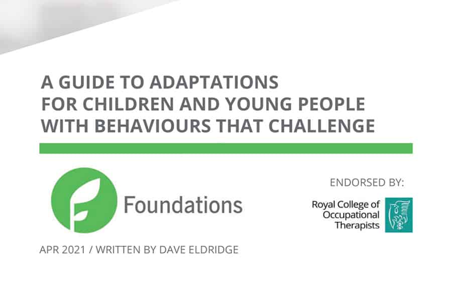 Adaptations for Behaviours that Challenge guide image