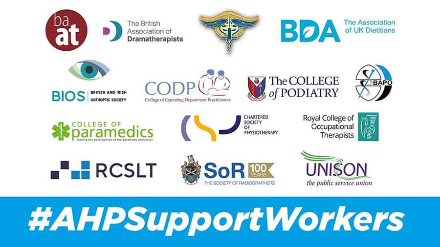 AHP support workers coalition image