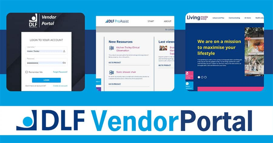 DLF Vendor Portal image