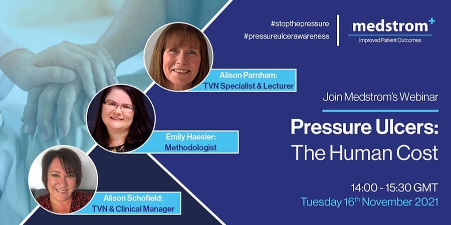 Medstrom pressure ulcers webinar image