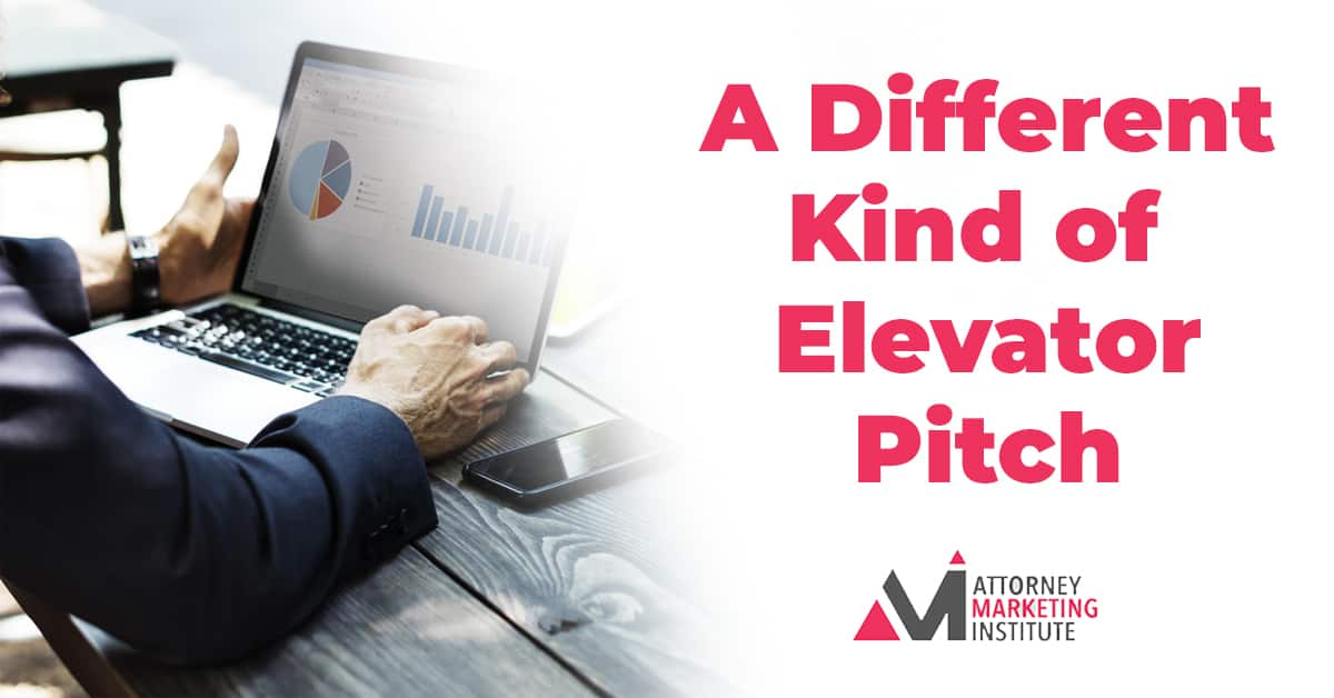 6: A Different Kind of Elevator Pitch