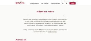 Efteling adres