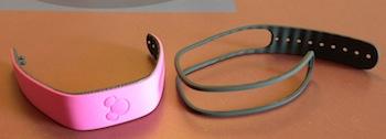 Making a Disney Magicband smaller