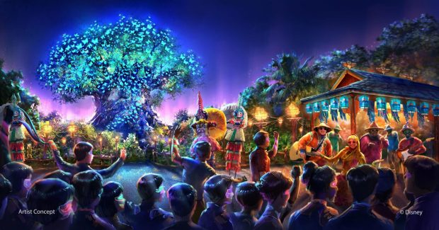 DisneyÕs Animal Kingdom Theme Park Expands