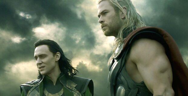 Thor and Loki in The Dark World movie
