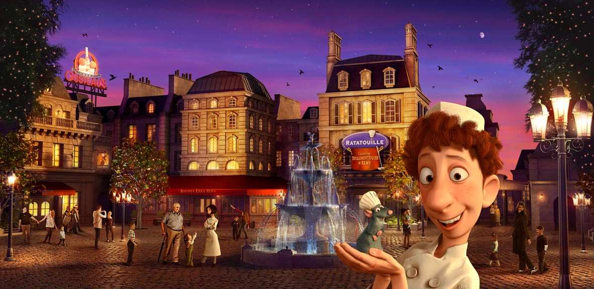 Out of the Loop A first look at the Ratatouille ride coming to Disneyland Paris  Attractions