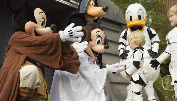 Star Wars Weekends character meals