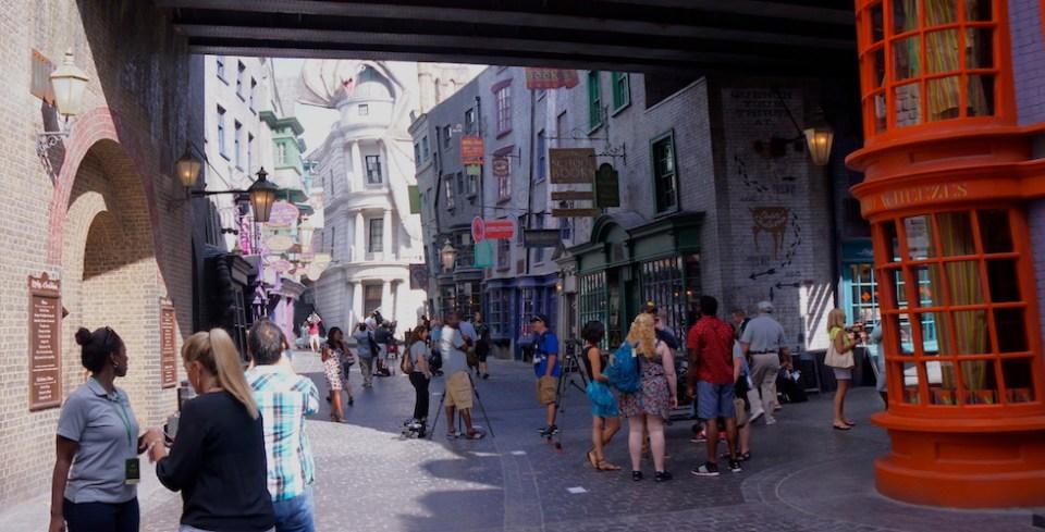 Diagon Alley street