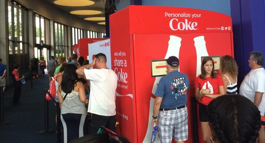 Share a Coke at Epcot