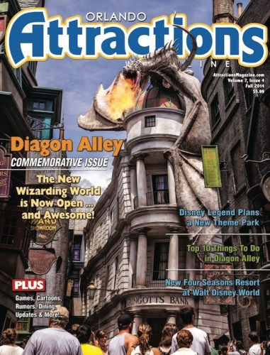 Attractions Magazine Fall 2014 cover