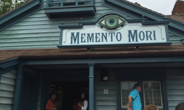Memento Mori Haunted Mansion gift shop