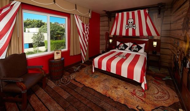 Legoland Hotel Florida pirate room