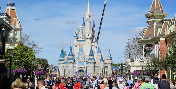 Magic Kingdom castle main street