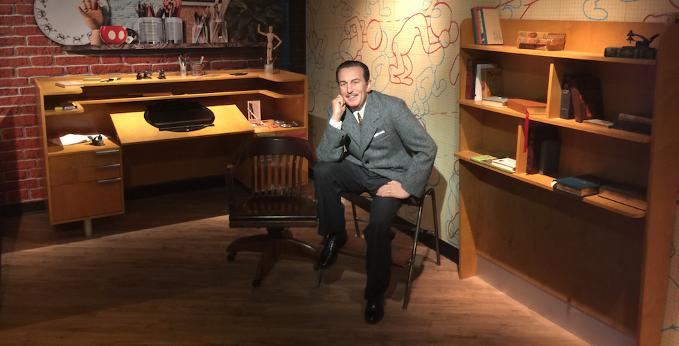 Walt Disney wax figure to be a part of Madame Tussauds