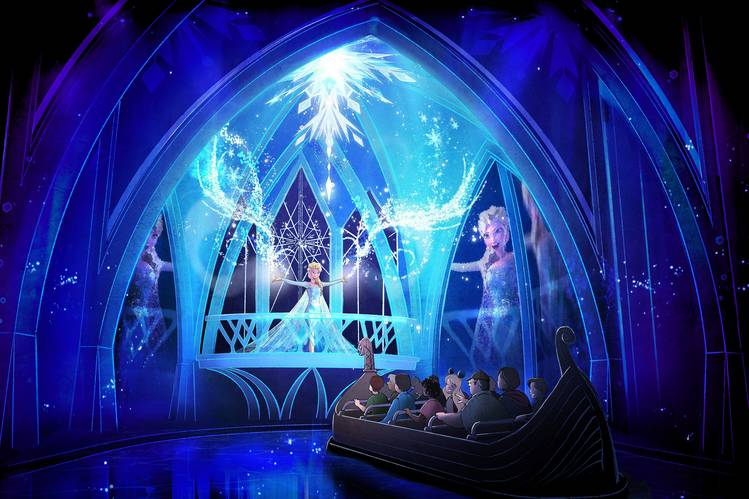 frozen ride concept art