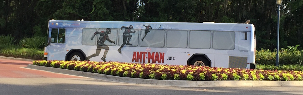 ant-man bus at wdw