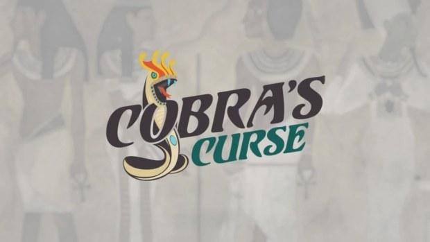 Cobra's Curse logo Busch Gardens Tampa