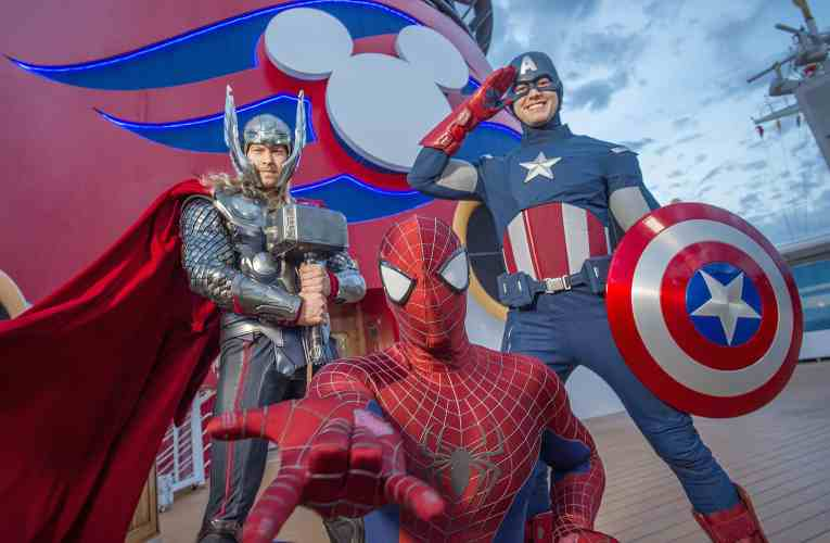 Marvel Day at Sea Disney Magic