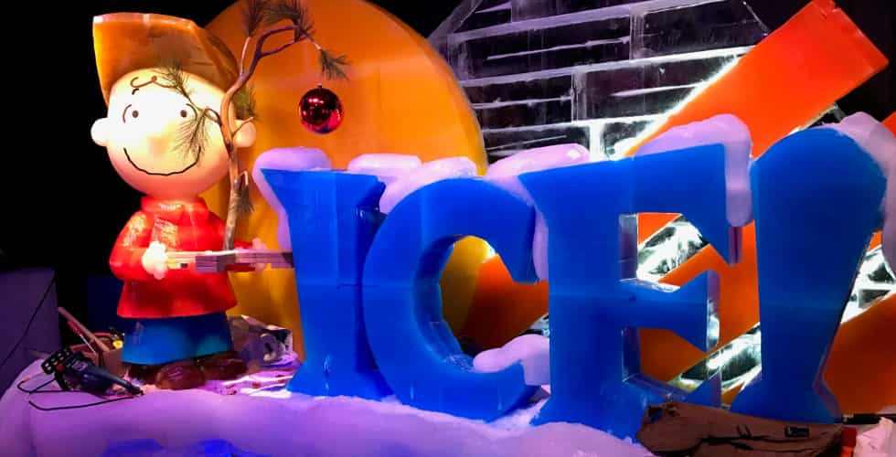 Gaylord Palms Ice Charle Brown