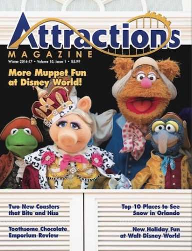 Winter 2016 / 2017 issue of Attractions Magazine