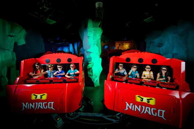Lego Ninjago Ride Legoland Florida