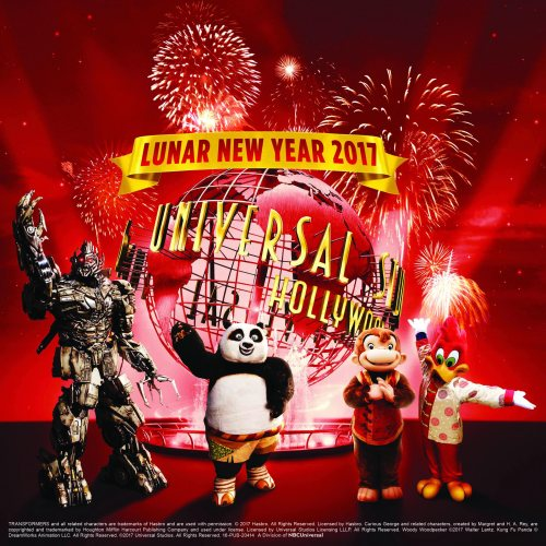 Universal Studios Hollywood Lunar New Year