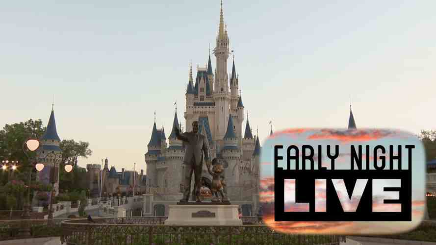early night live magic kingdom disney