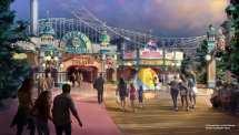Pixar Disney California Adventure Pier
