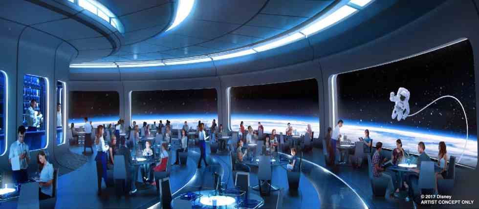 Mission: Space upgrades space-themed restaurant