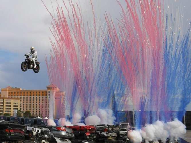 Travis Pastrana Nitro Circus Las Vegas