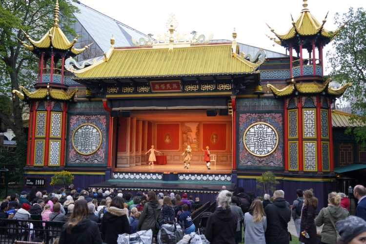 The Pantomime Theatre is home to the Tivoli Ballet Theatre