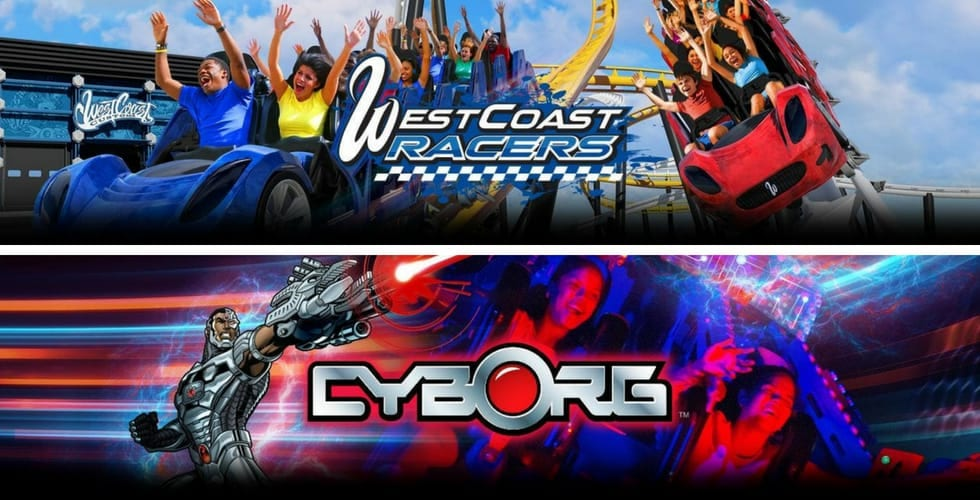 In kooperation mit seaworld wurde ab 1969 der park errichtet und am 29. Six Flags Announces Dc Super Hero Themed Attractions World S First Racing Launch Coaster And More For 2019