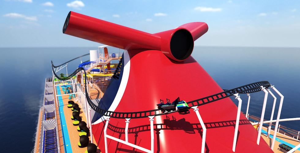 cruise roller coaster