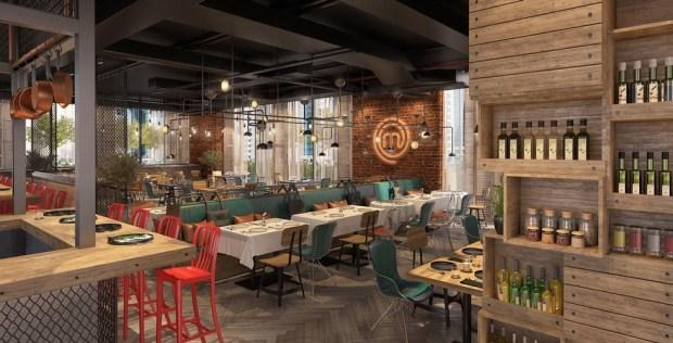MasterChef restaurant Dubai interior concept