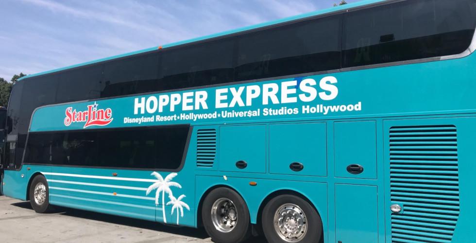 Starline hopper express bus