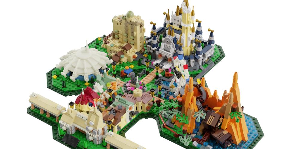 Disney Parks Lego Ideas