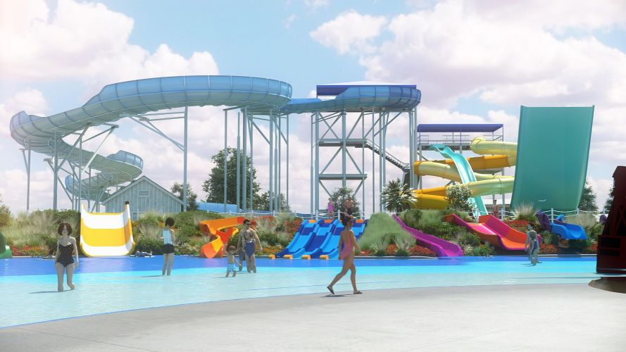 California's Great America South Bay Shores waterpark 2020
