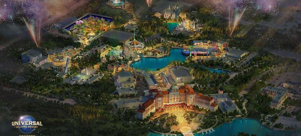 Universal Beijing Resort announces Jurassic World dark ride, WaterWorld land and more