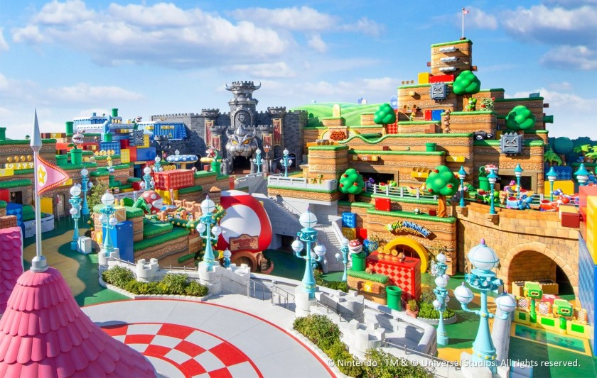 Full details and photos released for Super Nintendo World, opening Feb. 4