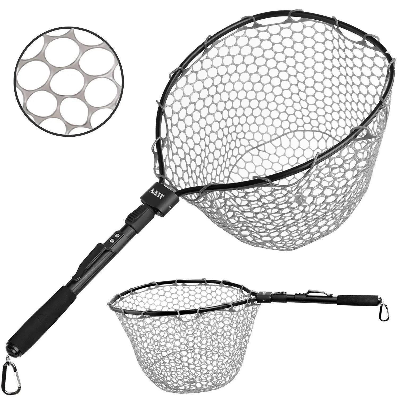 PLUSINNO Fly Fishing Net Fish Landing Net