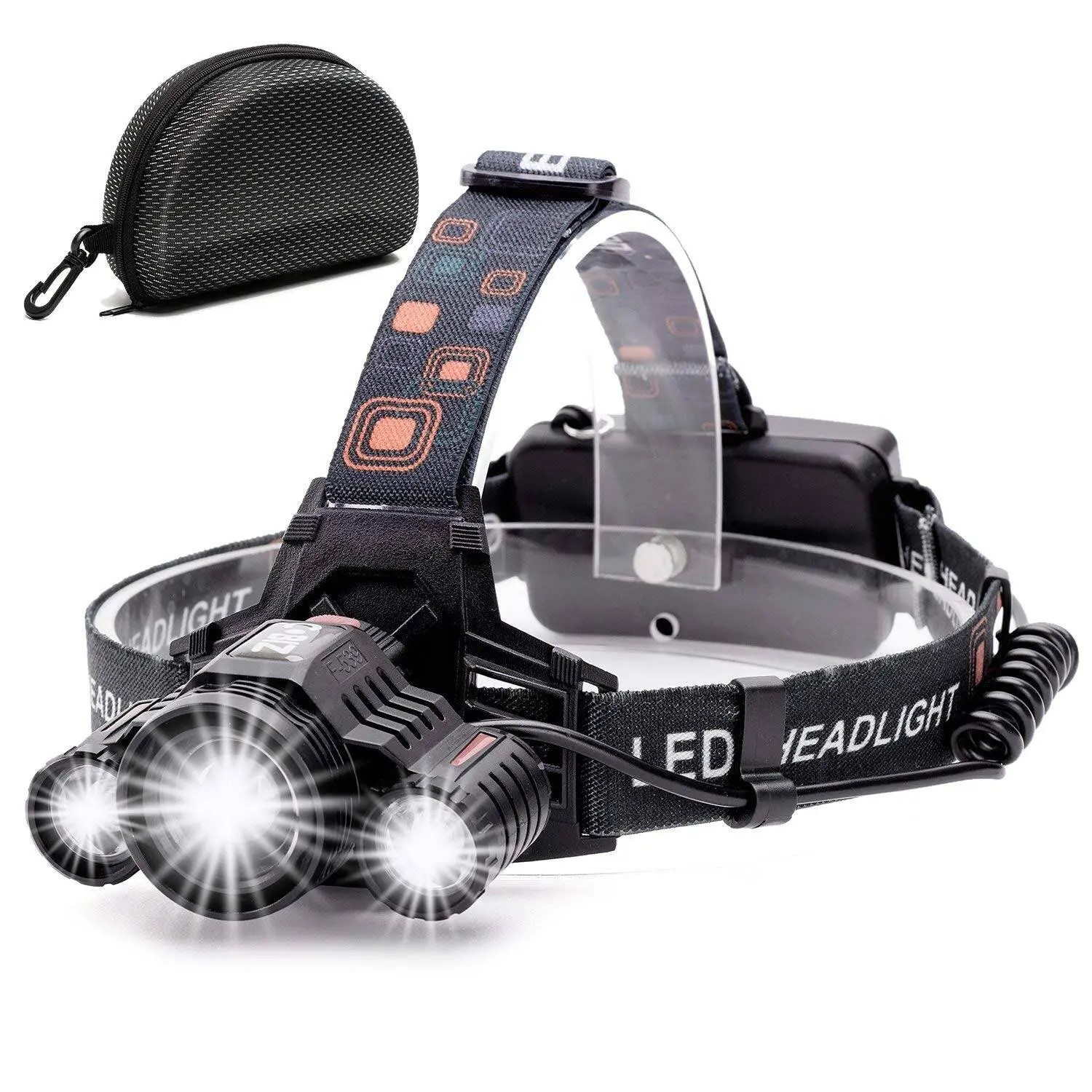 Cobiz Brightest 6000 Lumen Headlamp