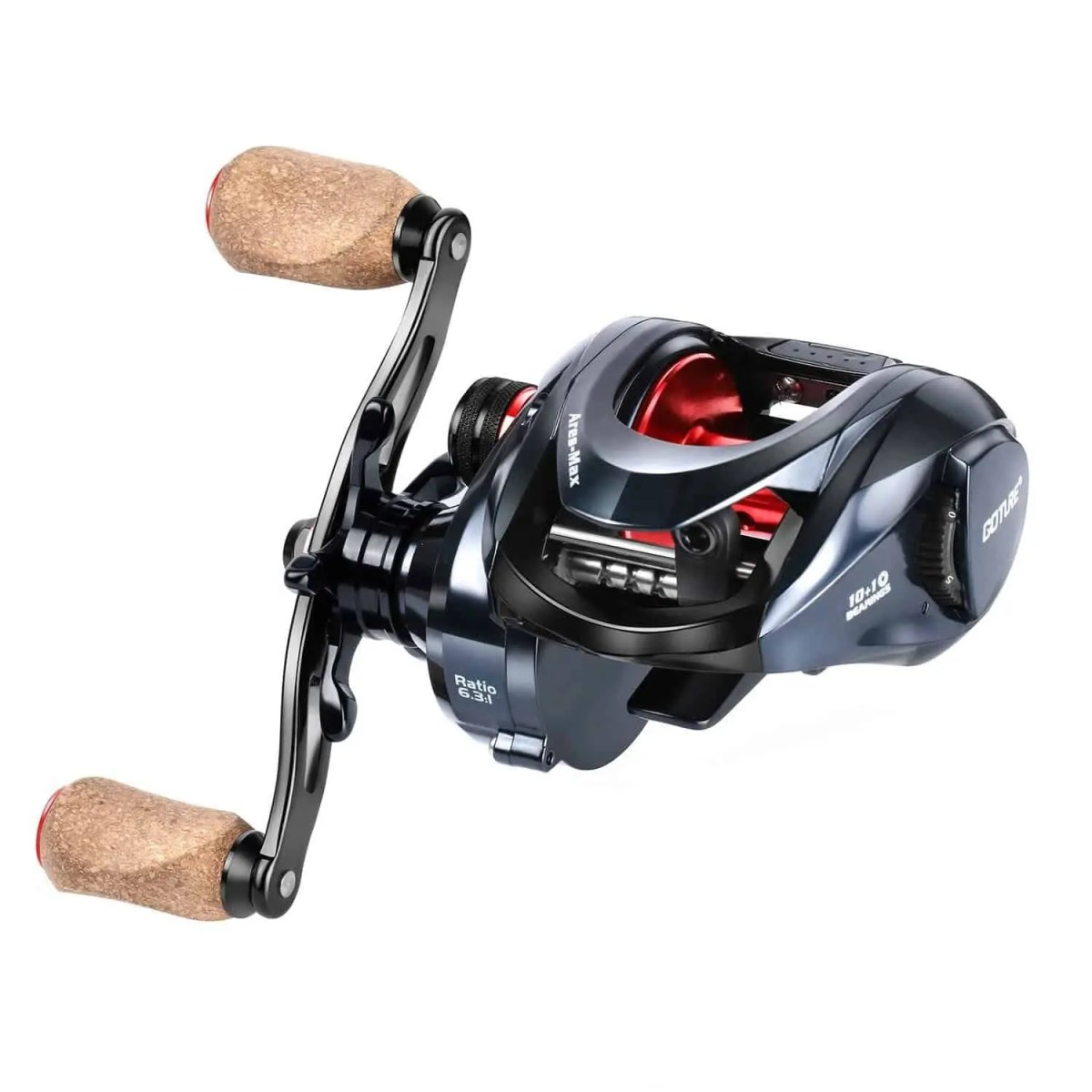 Goture Ares-Max Baitcasting Fishing Reel 22LB Carbon Fiber Drag
