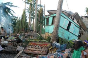 House Damage from Typhoon Yolanda 19