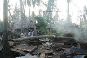 House Damage from Typhoon Yolanda 22