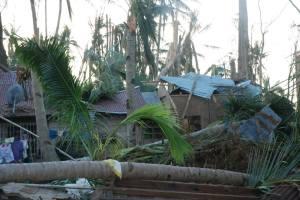 House Damage from Typhoon Yolanda 24