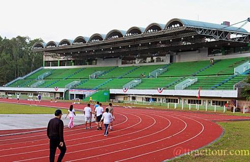 Ruberized Track of Panaad